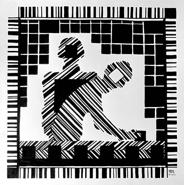film de dessins noir et blanc court m trage dessins l 39 encre noire oeuvre critique exp rimentale. Black Bedroom Furniture Sets. Home Design Ideas